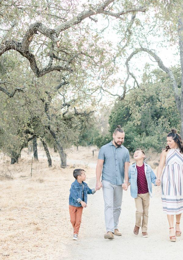 Angelika & Jerad – Family Session | Guadalupe Oak Grove Park | San Jose