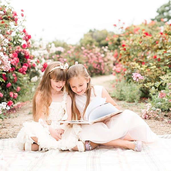 Kate & Anastasia | San Jose Heritage Rose Garden