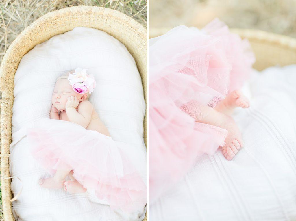 Rose Garden Lifestyle Newborn Session