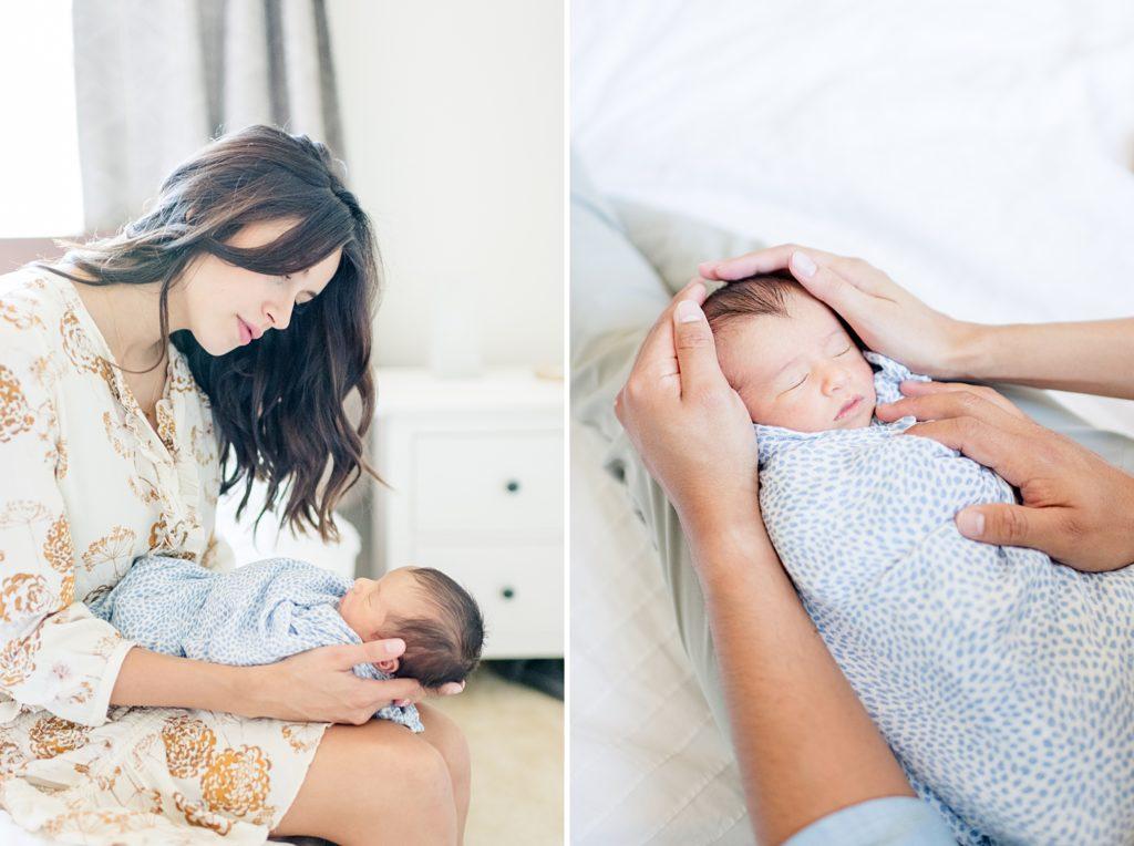Lifestyle Newborn Photo Session in Morgan Hill
