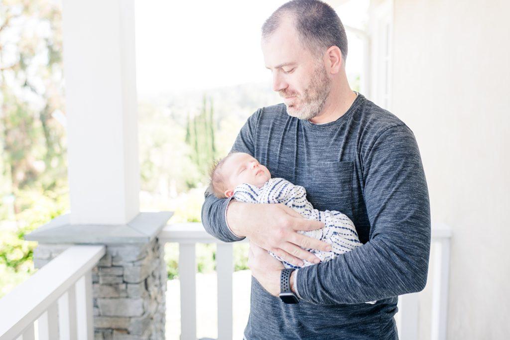 San Carlos Lifestyle Newborn Photoshoot