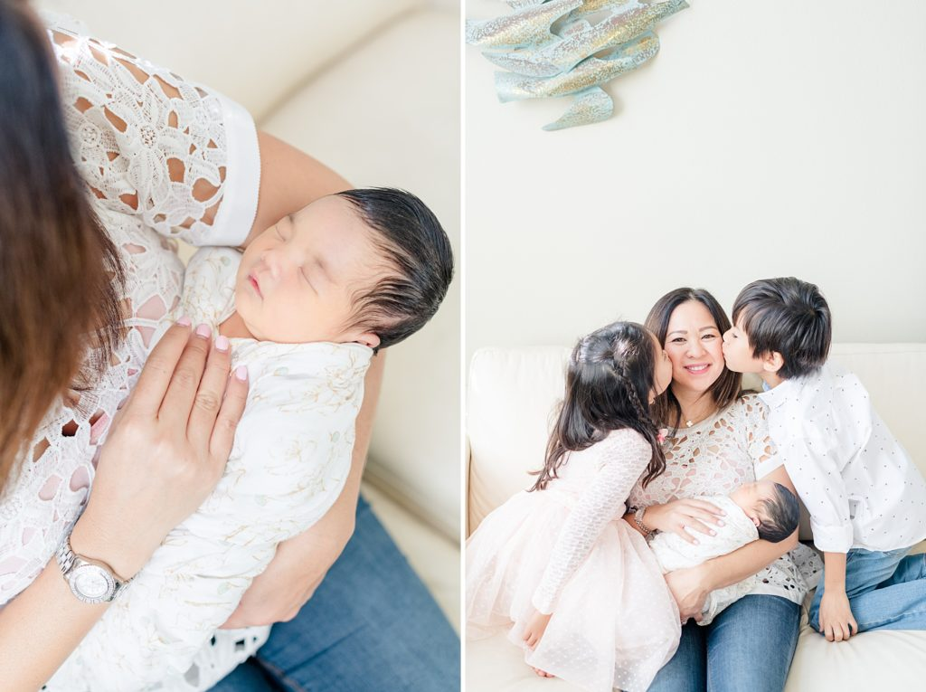 San Jose In-home Lifestyle Newborn Photoshoot