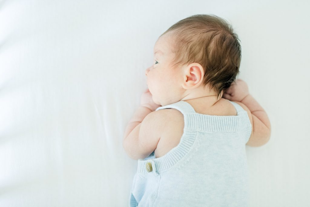 San Jose Light and airy Lifestyle newborn session