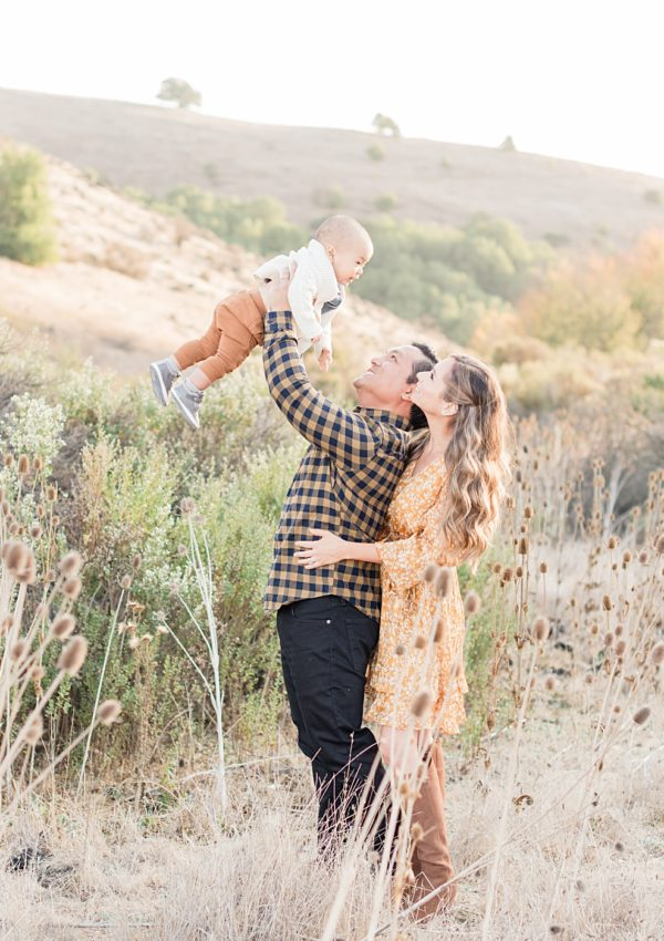 Ania and Louie – Fall Family Photosession + 'Wild One' First Birthday  ​Cake Smash | San Jose, CA