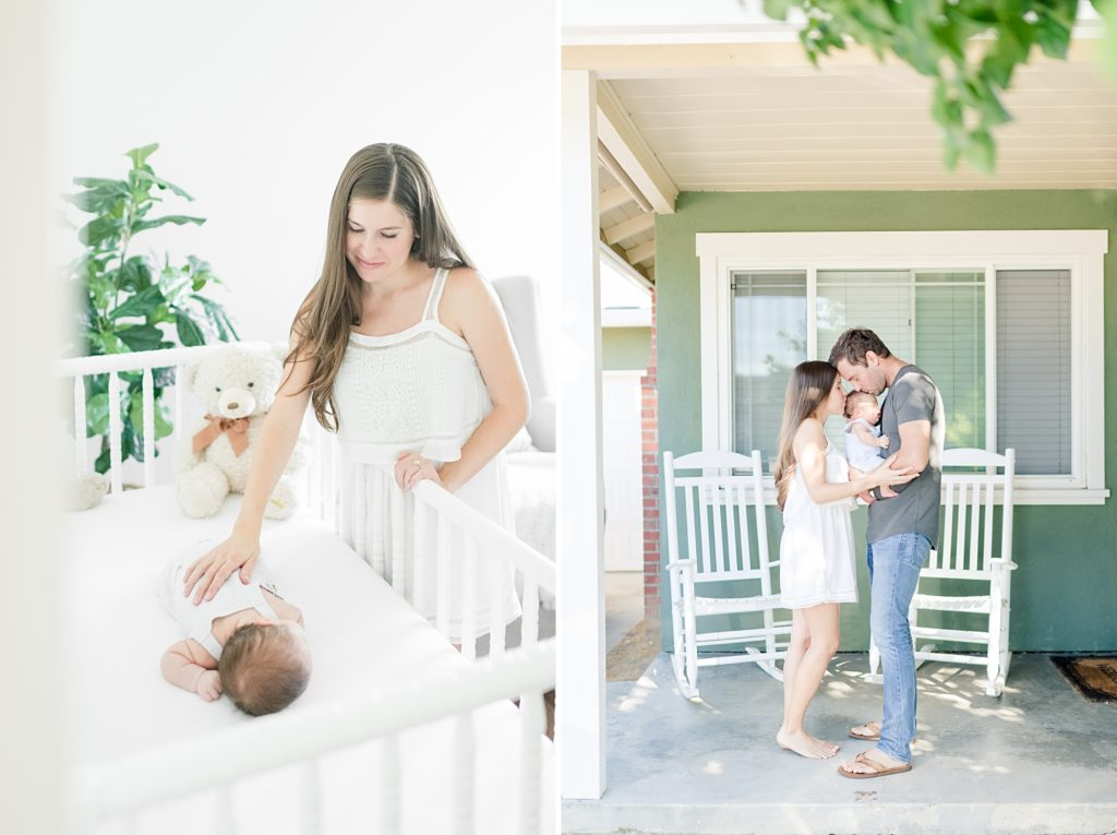 light and airy newborn photography