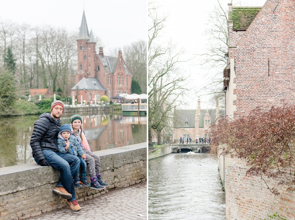 Family Trip to Europe Brugges