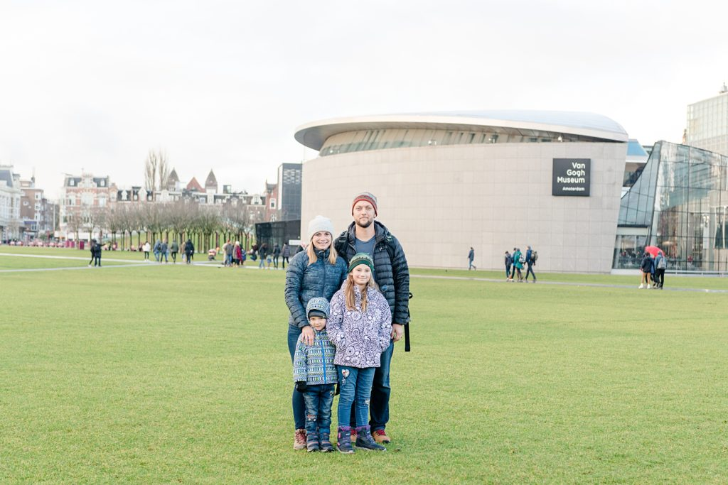 Family Trip to Europe Amsterdam