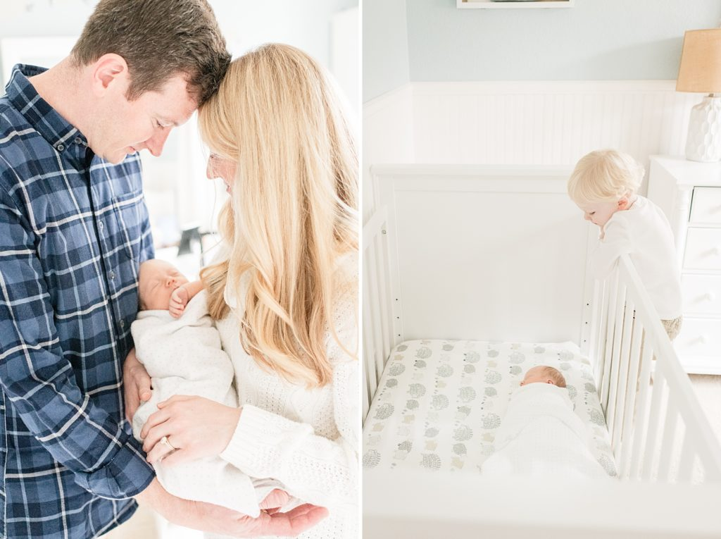 Light and Airy Newborn Photographer