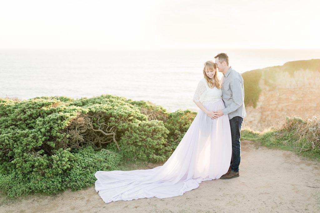Bay Area Beach Maternity Photographer