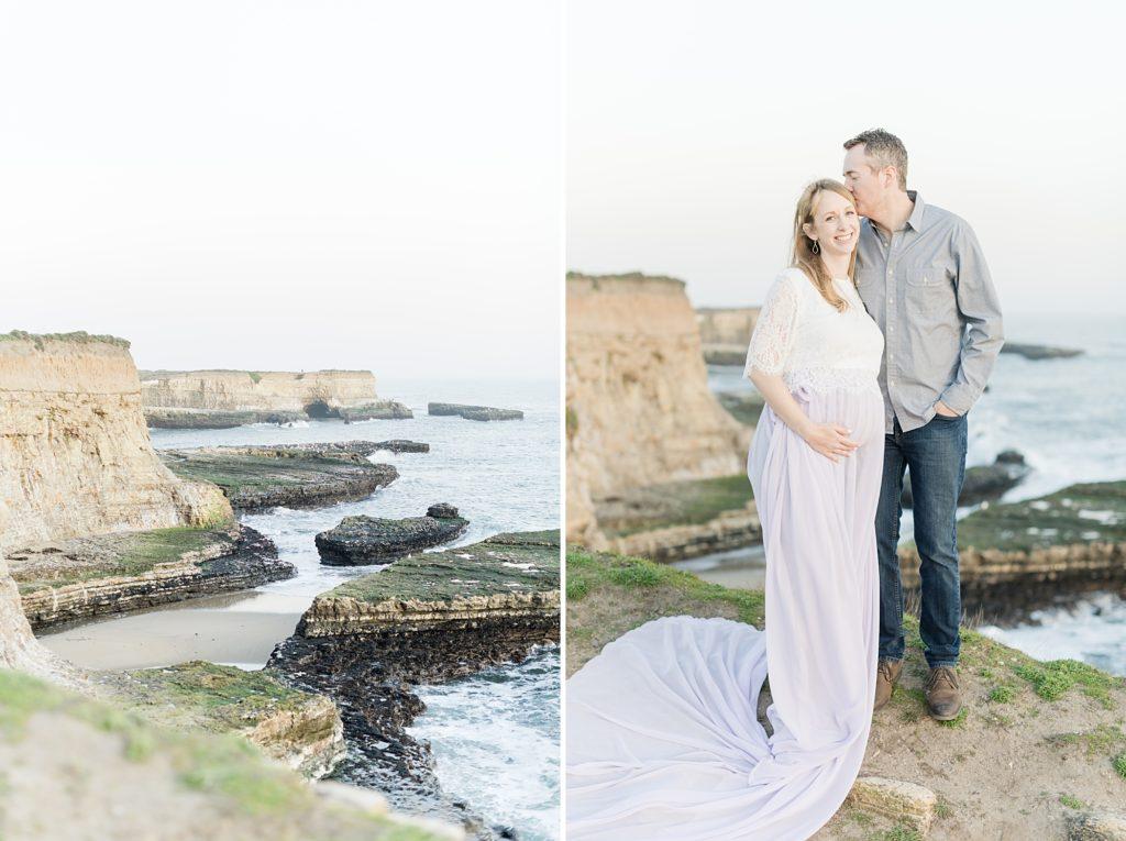 Santa Cruz Beach Maternity Photography