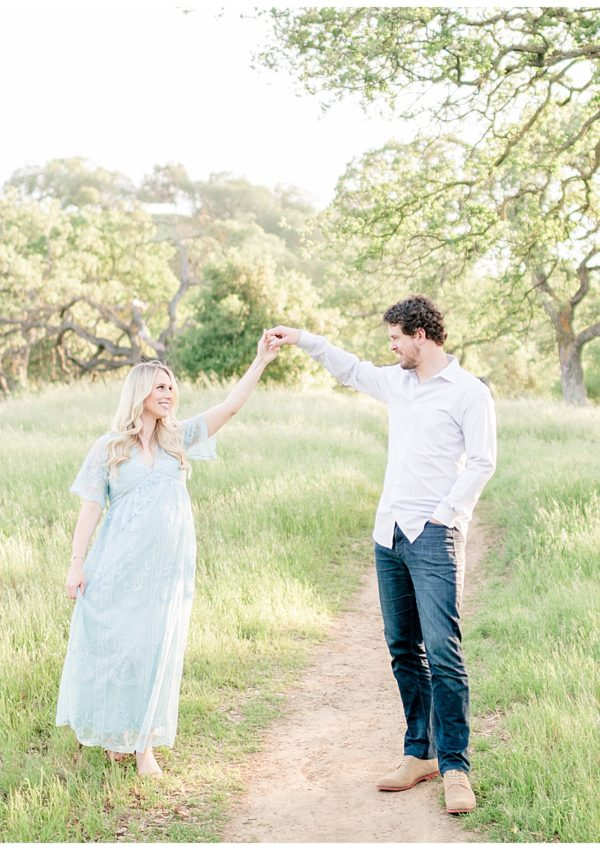 Christy & David – Spring Maternity Photo Session