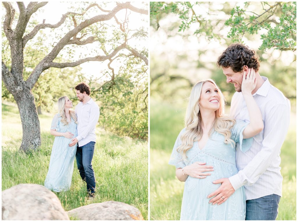 Spring Maternity Photo session in San Jose