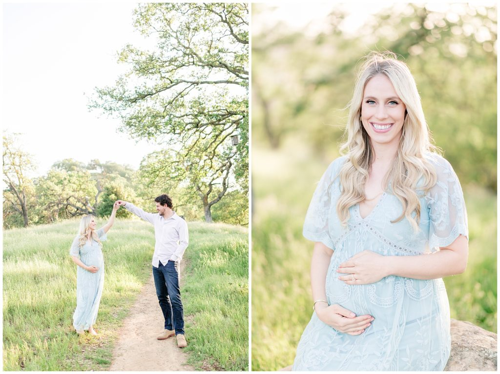 Light and Airy maternity photographer Bay Area