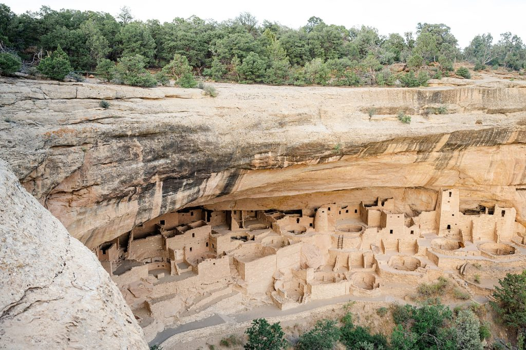 Mesa Verde National Park. Family Trip to Colorado