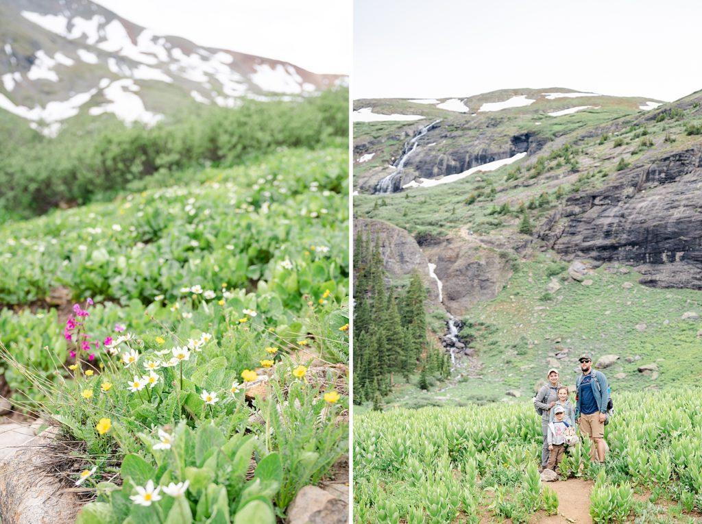 Ice Lakes Hike. Family Trip to Colorado