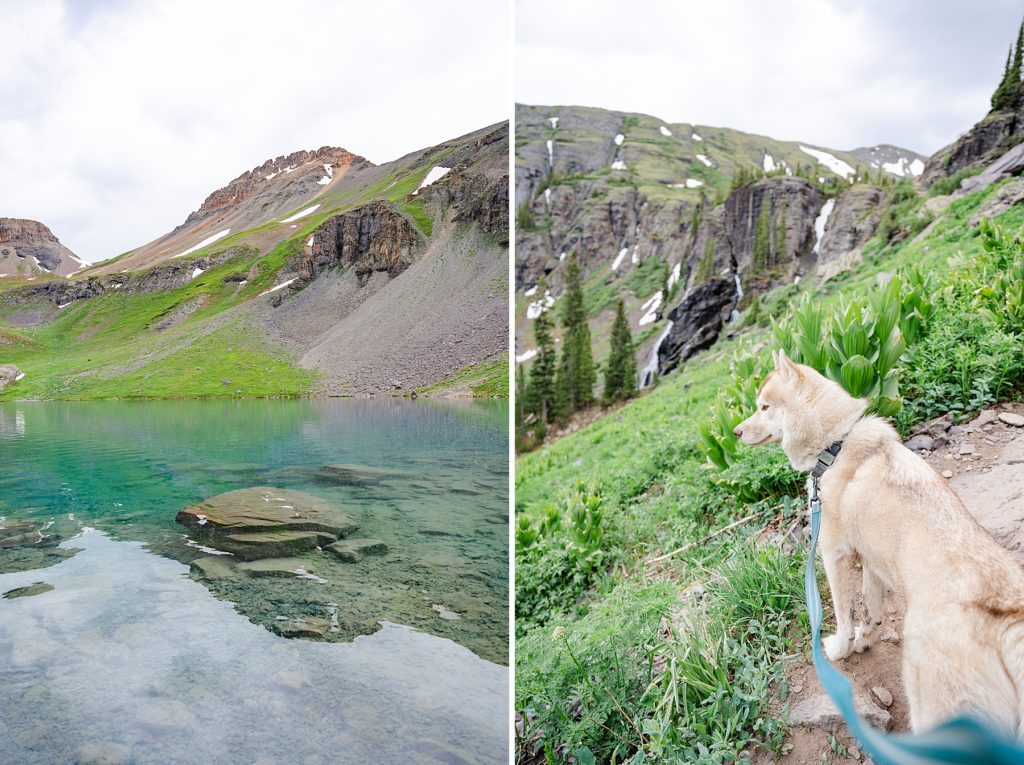 Ice Lakes Hike. Family Trip to Colorado
