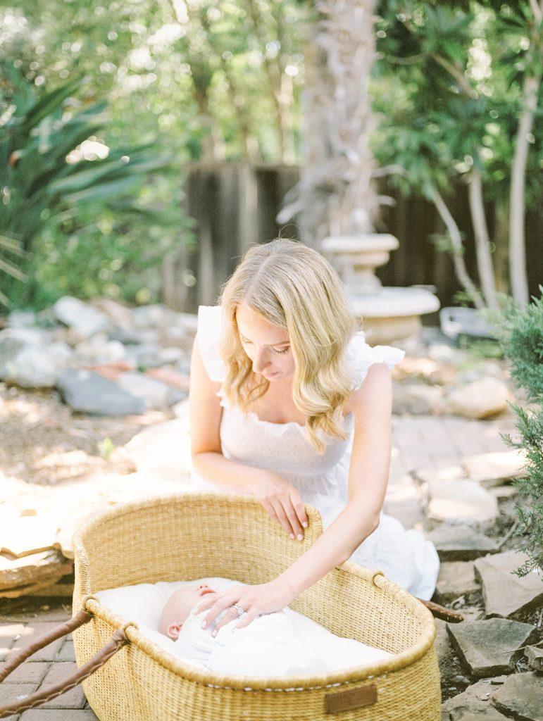 Morgan Hill Newborn Photography on Film