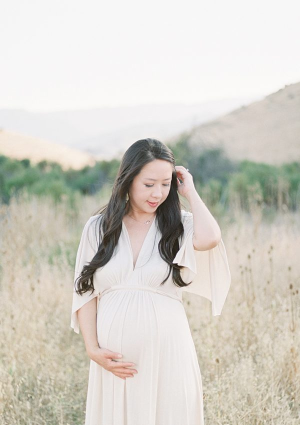 Annie & John – San Jose Family Maternity Photoshoot on Film
