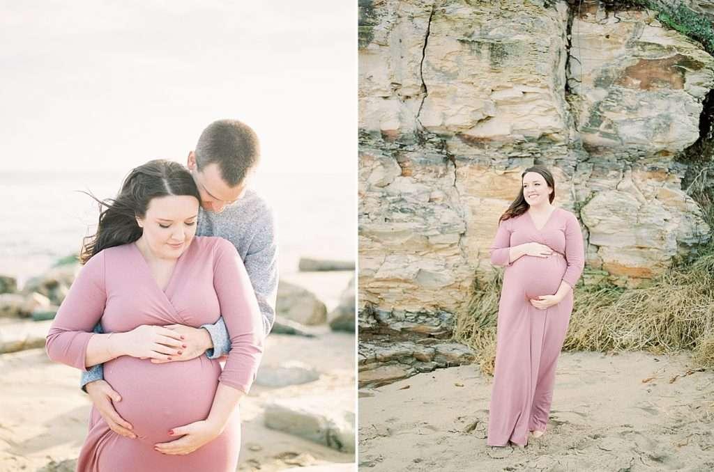 Santa Cruz Beach Maternity Photoshoot