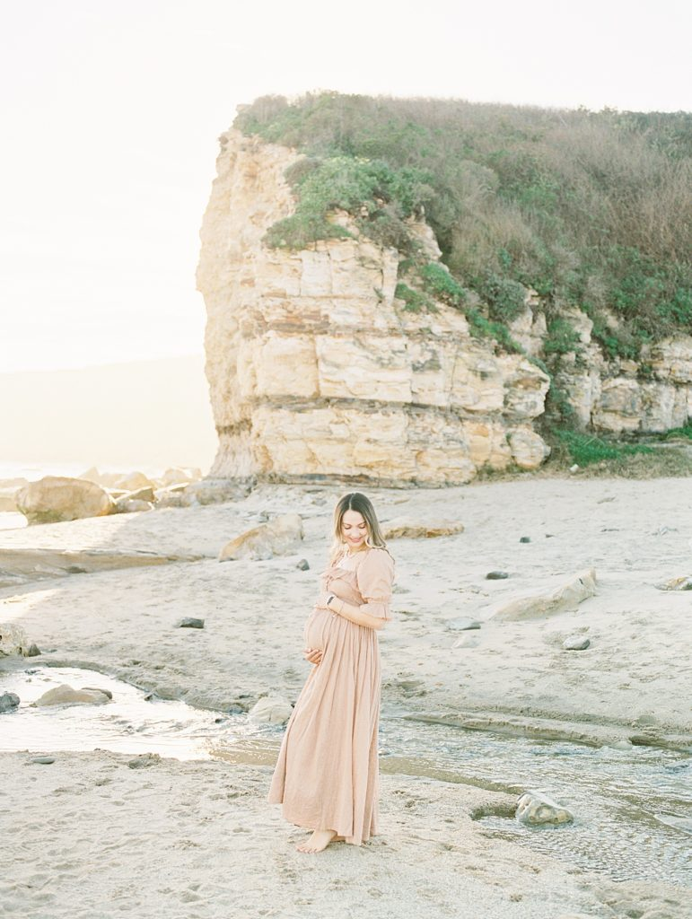 Santa Cruz Beach Maternity Photoshoot