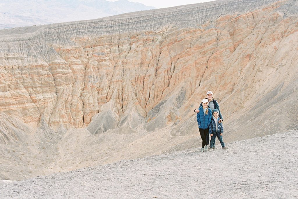 Ubehebe Crater Family Trip to Death Valley National Park
