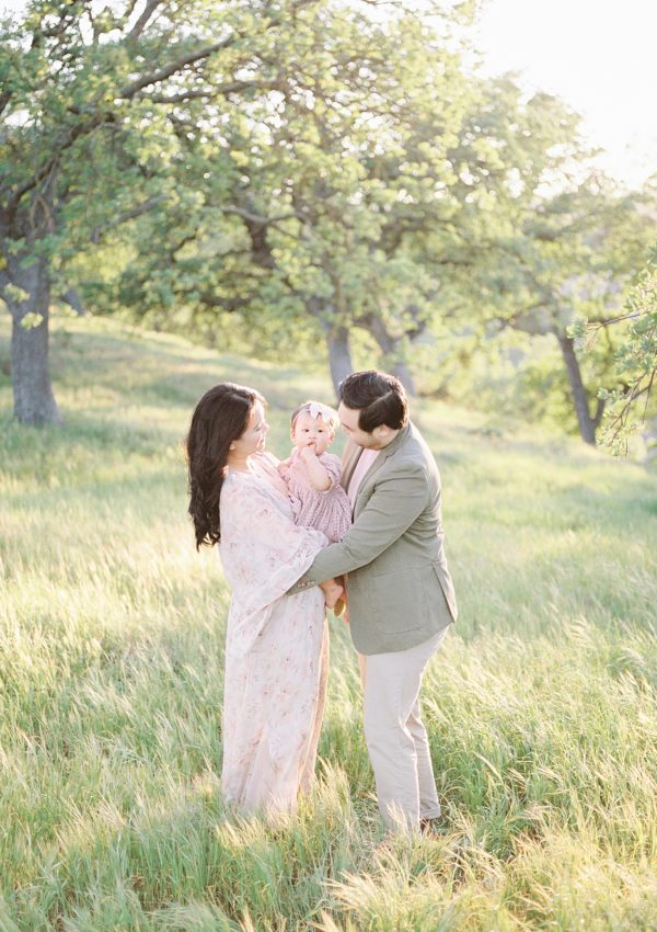 Nancy & Henry – Bay Area Outdoor First Birthday Photoshoot