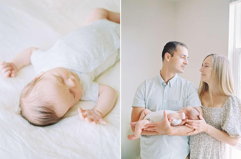 San Jose At-Home Newborn Photoshoot